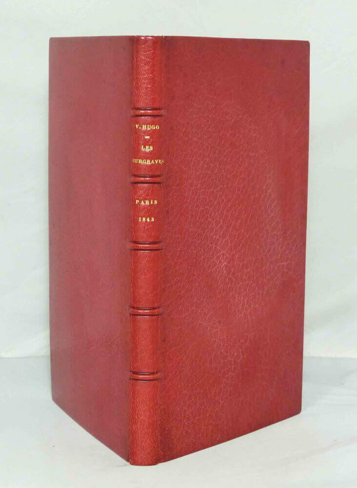 Les Burgraves Victor Hugo Edition originale 1843